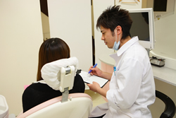 みなと歯科 清掃状況の説明
