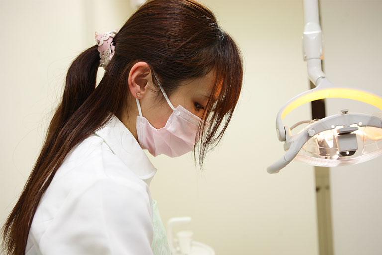 みなと歯科 審美治療 詰め物